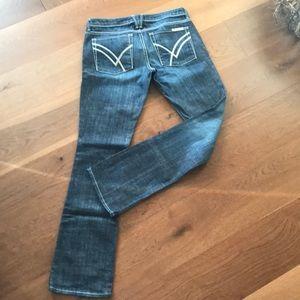 William Rast Jeans - William Rast Sadie Straight Leg Low Waist Size 30